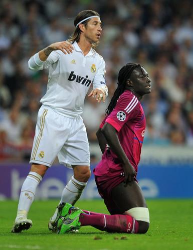 S. Ramos (Real Madrid - Olympic Lyon)