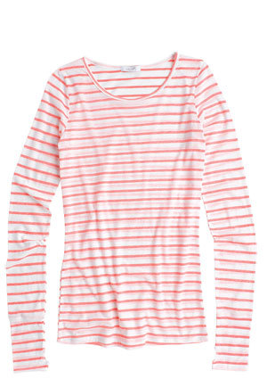Pink Striped Long Sleeve Shirt Shirts Rock