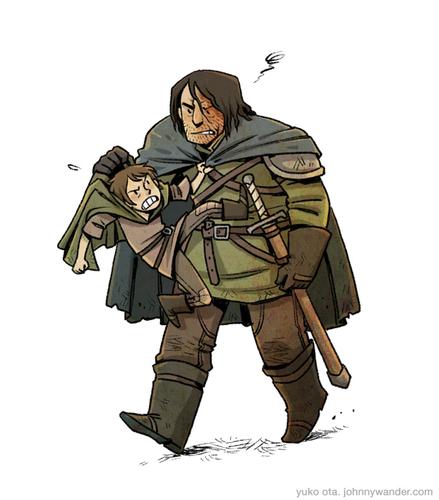 Sandor & Arya
