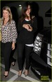 Sandra Bullock &amp; Keanu Reeves: Dinner at Craig's! - sandra-bullock photo