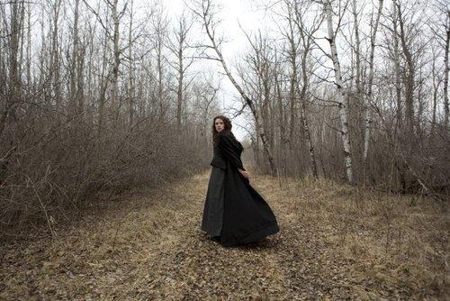 Sara Canning in Black Field?