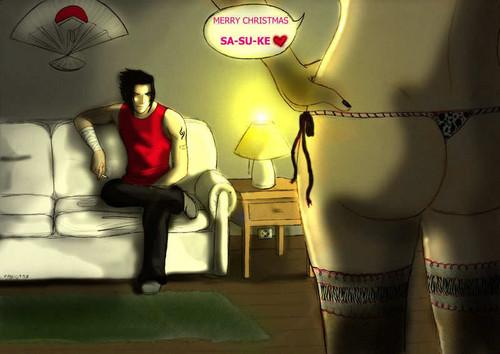Sasuke enamorados