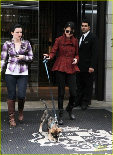 Selena Gomez: Walk with Baylor in Toronto