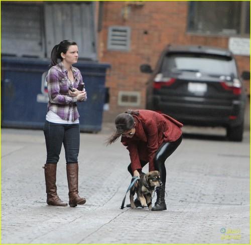 Selena Gomez: Walk with Baylor in Toronto