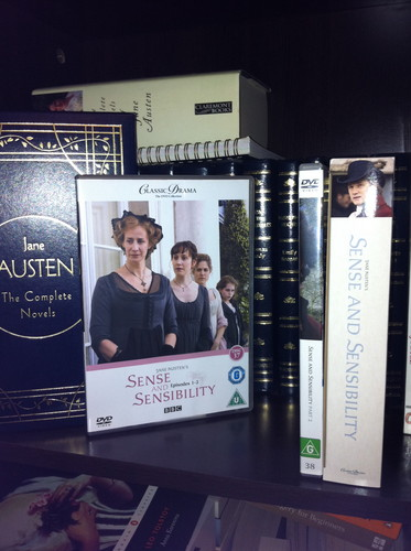 Book to Screen Adaptations দেওয়ালপত্র entitled Sense and Sensibility 2008 BBC miniseries