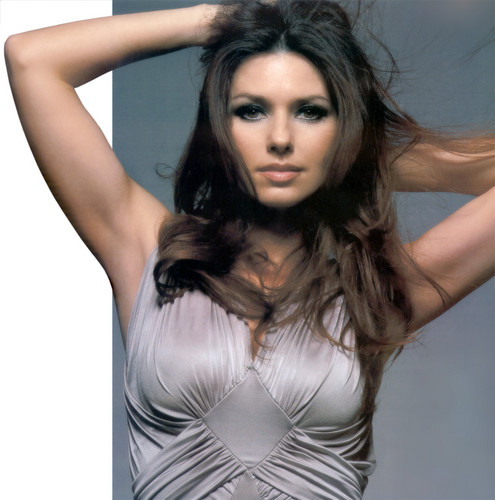 Shania Twain wallpaper with attractiveness and a bustier titled Shania Twain