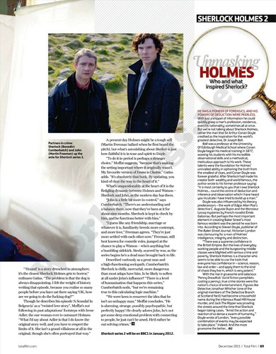 Sherlock Total Film Magazine लेख