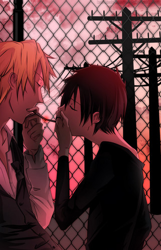 Shizuo and Izaya
