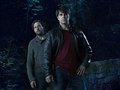 Silas Weir Mitchell as Monroe & David Giuntoli as Nick Burkhardt