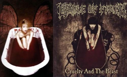Shinya/Cradle Of Filth Album - Comparison