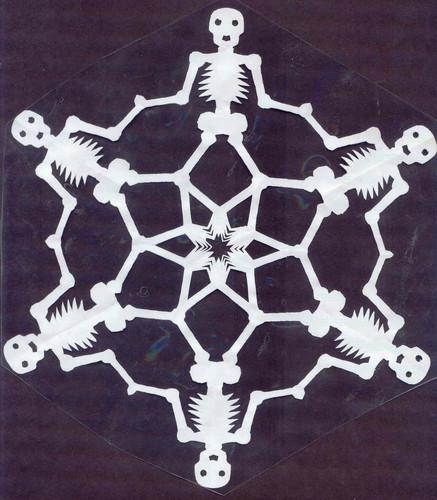 Skeleton Snowflake