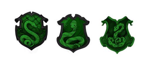 Slytherin crest concept art