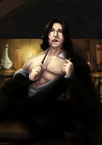 Severus Snape achtergrond possibly containing skin called Snape sexy