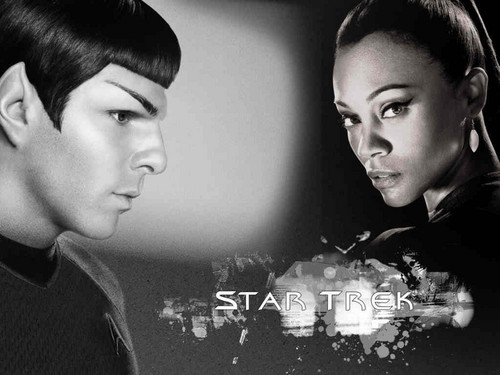 Spock and Uhura - spock-and-uhura Wallpaper