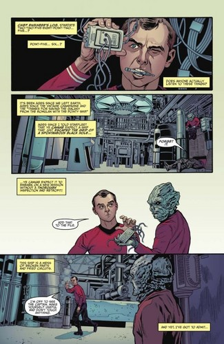 звезда Trek Comic Book IDW ongoing issue 1