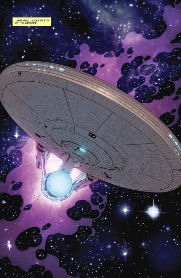 তারকা Trek Comic Book IDW ongoing issue 1
