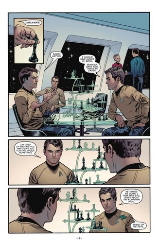 étoile, star Trek Comic Book IDW ongoing issue 1