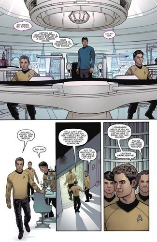 سٹار, ستارہ Trek Comic Book IDW ongoing issue 1