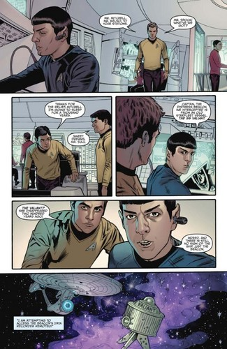 星, 星级 Trek Comic Book IDW ongoing issue 1