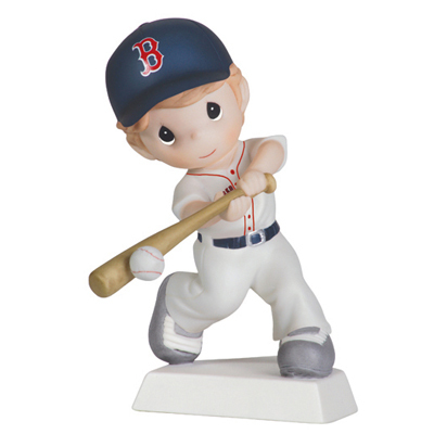 Swing For The Fences - Boston Red Sox Boy