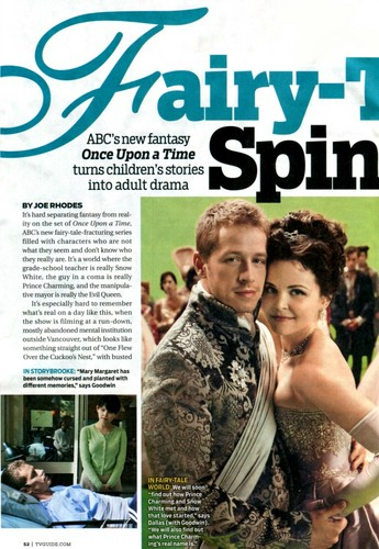 TV Guide Article Page One
