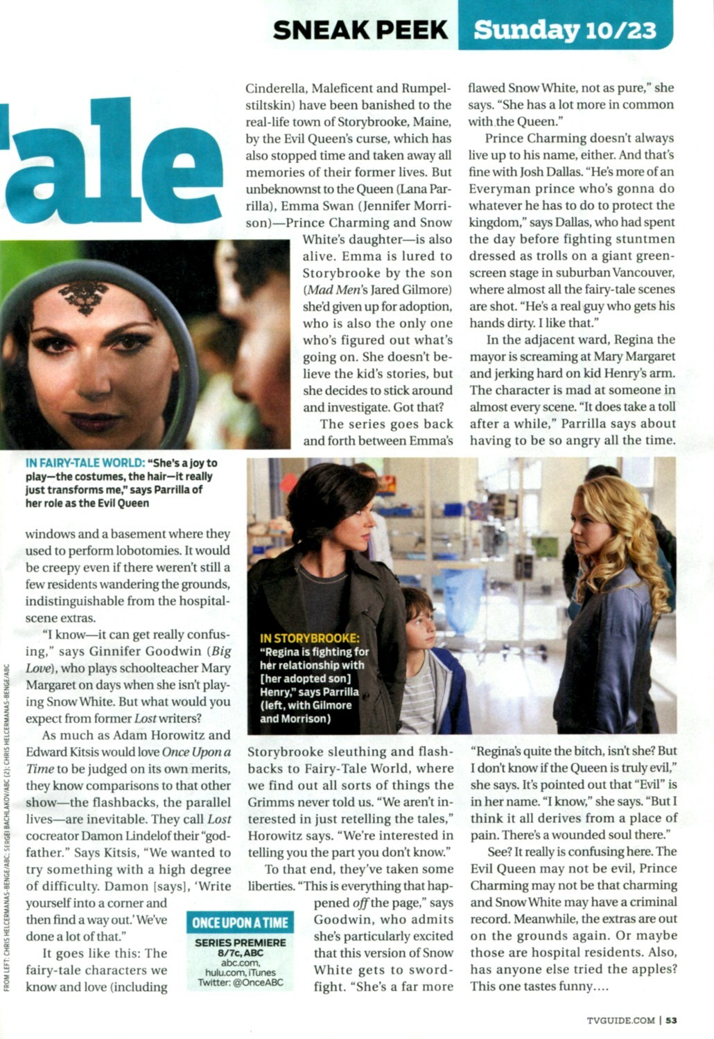 TV Guide Article Page Two
