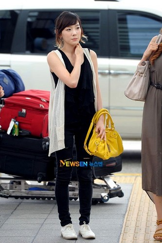 Taeyeon Airport Style