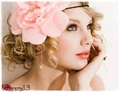 Taylor Swift in Pink Flower - anichu90 photo