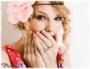 Taylor быстрый, стремительный, свифт with розовый цветок