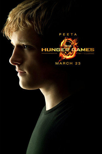 The Hunger Games character poster - Peeta Mellark