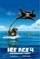 The newest version of the offical teaser poster - ice-age-4-continental-drift photo