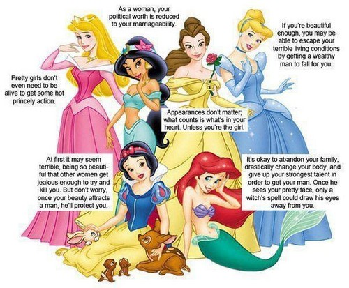 Feminism wallpaper containing anime titled The real stories behind Disney princesses