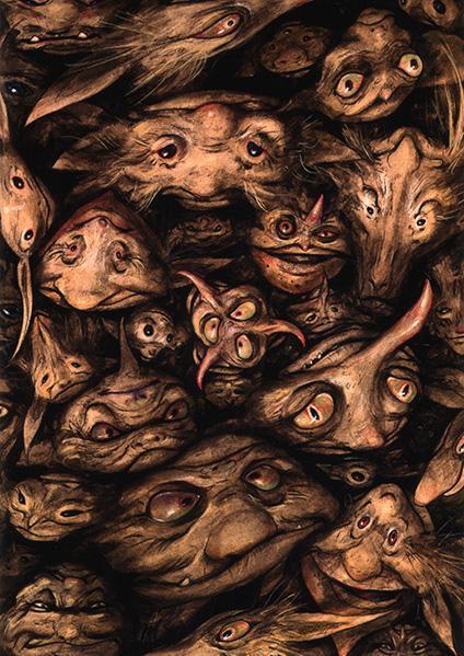 Topsy Turvy Goblins