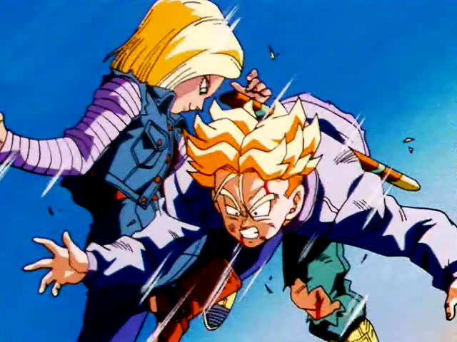Trunks And 18 Dragon Ball Z Image 26380791 Fanpop