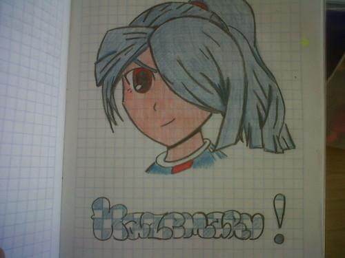 Trying to draw Kazemaru-kun