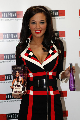 Tulisa Contostavlos 'The Female Boss' Perfume Launch