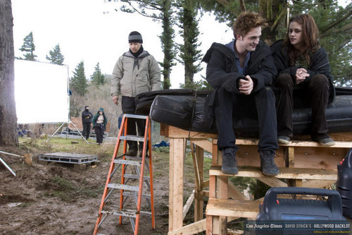 Twilight - Behind the scenes