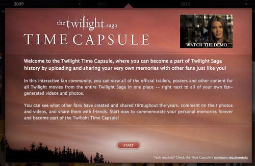 Twilight time Capsule