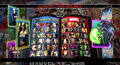 Ultimate Marvel Vs. Capcom 3 - Full Character Select Screen - video-games screencap