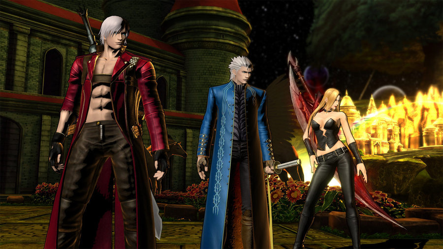 Vergil vergil dante and trish from ultimate marvel vs capcom3