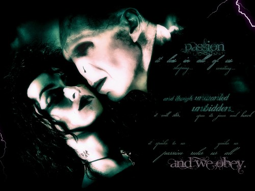 Voldemort Bellatrix Passion Wallpaper