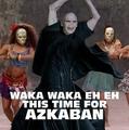 Voldemort dancing xD