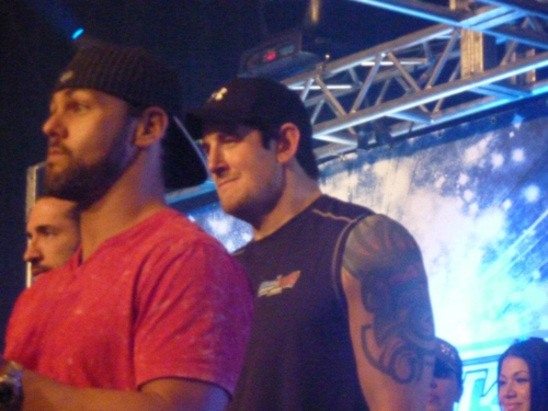 Wade Barrett and Justin Gabriel