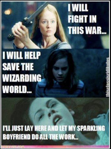 Why Harry Potter is better