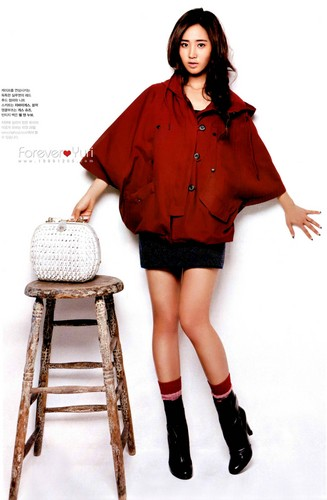 Yuri - High Cut Magazine Scans