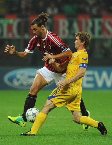 Z. Ibrahimovic (AC Milan - BATE Borisov)