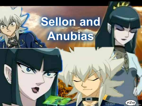 Bakugan Anubias And Sellon
