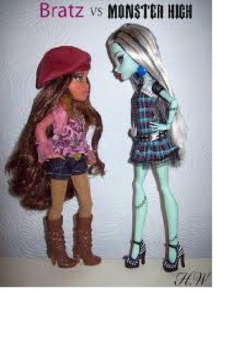 bratz vs monster high
