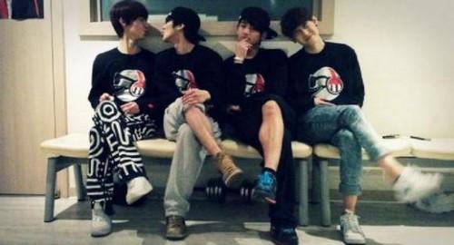 chaejin, gunwoo, insoo and saeyong :)