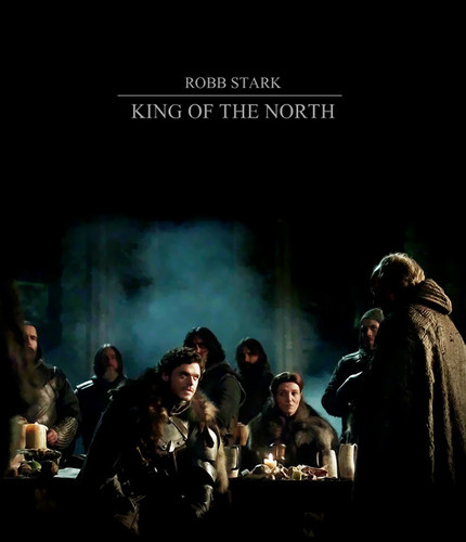 Game Of Thrones Wallpaper With A Concert Titled King In The North